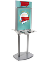 Charging Station Poster Frame for Malls