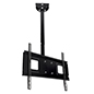 "Hanging 36"" to 65"" TV mount for flat or angled ceilings"