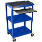 AV Cart With Shelf