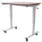 "47.25"" Crank Adjustable Desk"