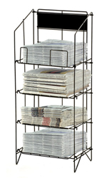 Wire Newspaper Rack