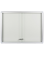 Enclosed Magnetic Whiteboard For Indoor Display