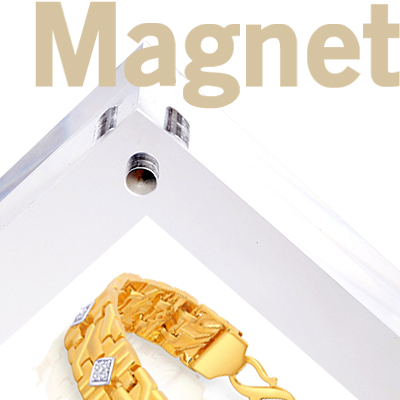 magnetic frames for metal surfaces