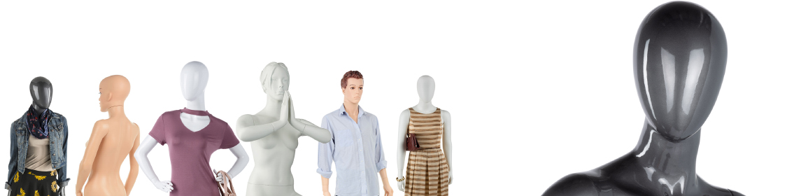 Mannequins for Clothing Displays
