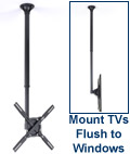 Height-Adjustable Ceiling mount
