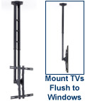 Extra-Long TV Ceiling Mount