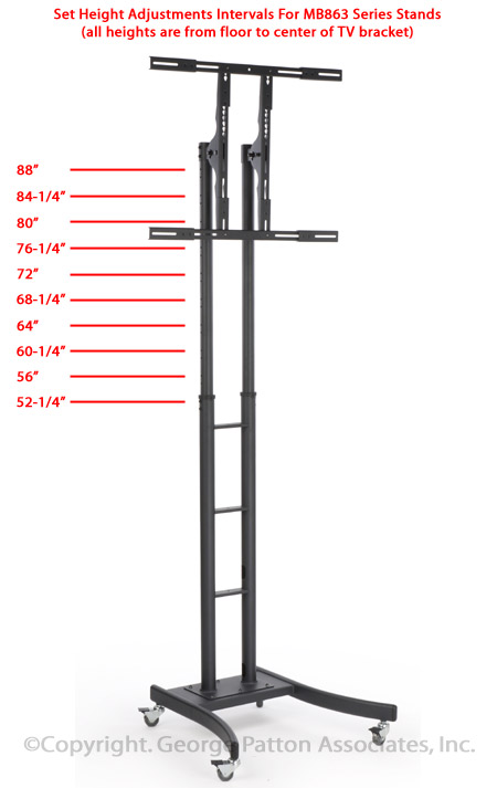 Lcd Tv Stands For 32 Quot 65 Quot Screens With Removable Av Shelf