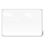 "Magnetic Glass Dry-Erase Board – 48"" x 36"""
