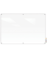 Magnetic Glass Dry-Erase Board with Wall Mount Design