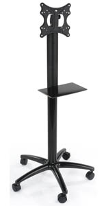 Floor Standing Single Pole TV Stand