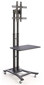 "TV Trolley on Wheels w/ 28"" Shelf"