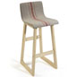 Chic Bar Stool with Fabric