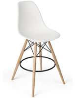 Eiffel Stool with White Seat