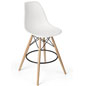 Eiffel Stool with Wood Legs
