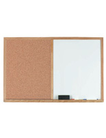 Business Bulletin Boards with Oak Frames