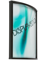 22 x 28 Curved Wood Poster Frame, Durable Construction