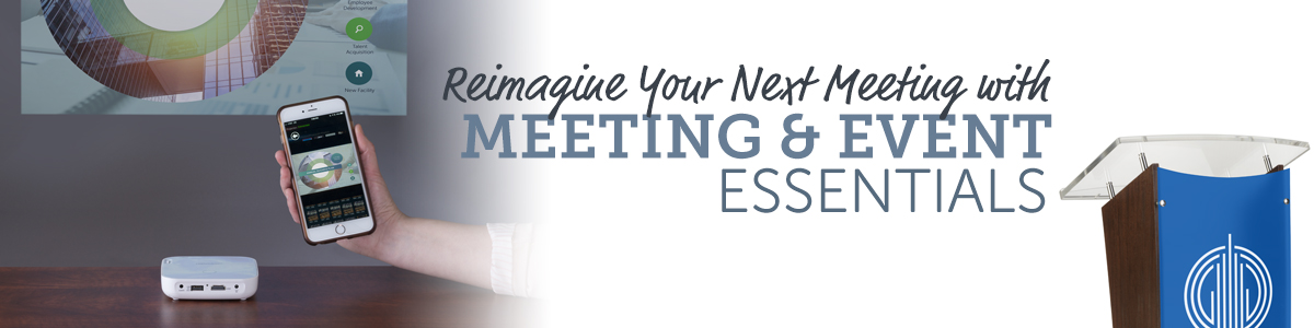 Meeting and Event Essentials for Every Business