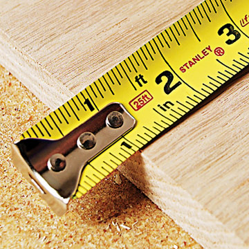Measuring for DIY Picture Frame
