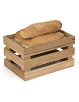 Natural Wooden Produce Crate