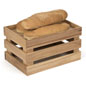 Wooden Produce Crate for Breads