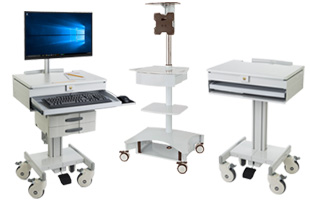 Medical Computer & Equipment Carts