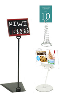 Sign Holder Clips
