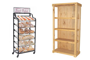 Floor Merchandising Racks