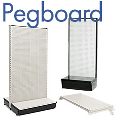 Pegboard Shelf Systems