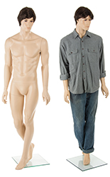 Male Retail Mannequin, Sturdy Construction