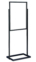 Black 22x28 Top Loading Poster Stand