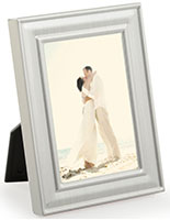 Bruhed Silver Picture Frame