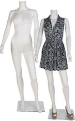 Headless Female Mannequin with Hands by Her Side