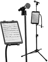 Microphone Tablet Stands