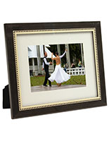 Wooden Photo Frame Inlaid with Veneer From Italy