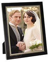 "Black Wooden Photo Frame for 8.5"" x 11"" Prints"