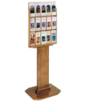 Durable Wood Brochure Display Stand