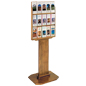 Wood Brochure Display Stand for Lobby Areas