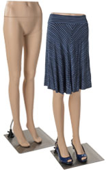 Lightweight Lower Body Female Mannequin