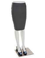 White Lower Body Mannequin with Lightweight Design