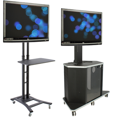 mobile and conference room monitor stands