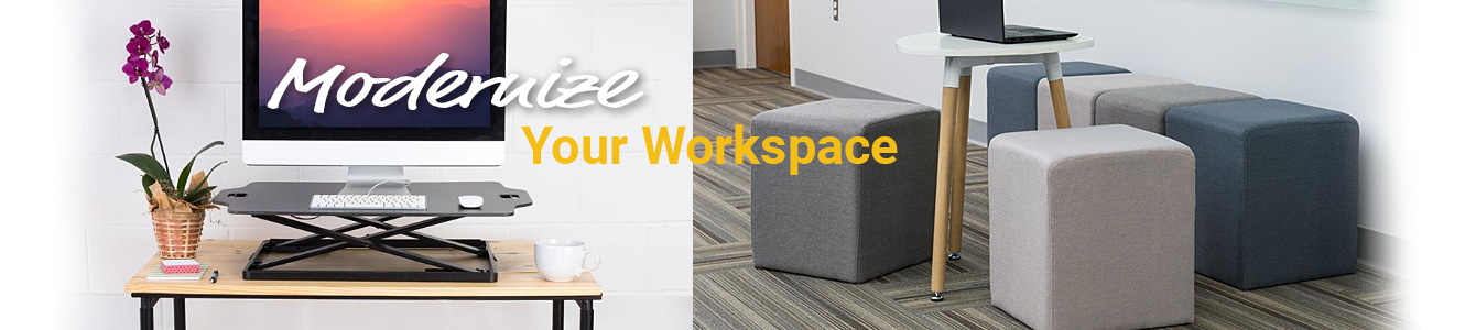 Update your office interior with our collection of modern fixtures and furnishings