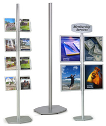 modular poster display stands