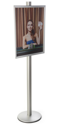 22x28 Snap Open Display Stand with PVC Lens