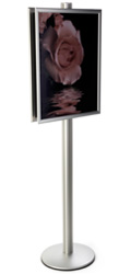 22x28 Sign Display Stand with PVC Lenses