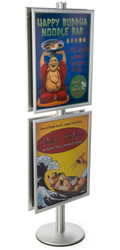 22x28 Snap Frame Poster Stand with PVC Lenses