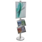 22x28 Double Pocket Literature Sign Stand for Heavily Trafficked Areas