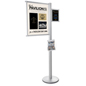 Durable Multi Literature Poster Sign Display Stand