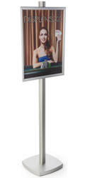 22x28 Snap Frame Display Stand with PVC Lens