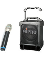 Portable PA Speaker w/ Wireless Microphone