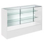 5' White Display Case